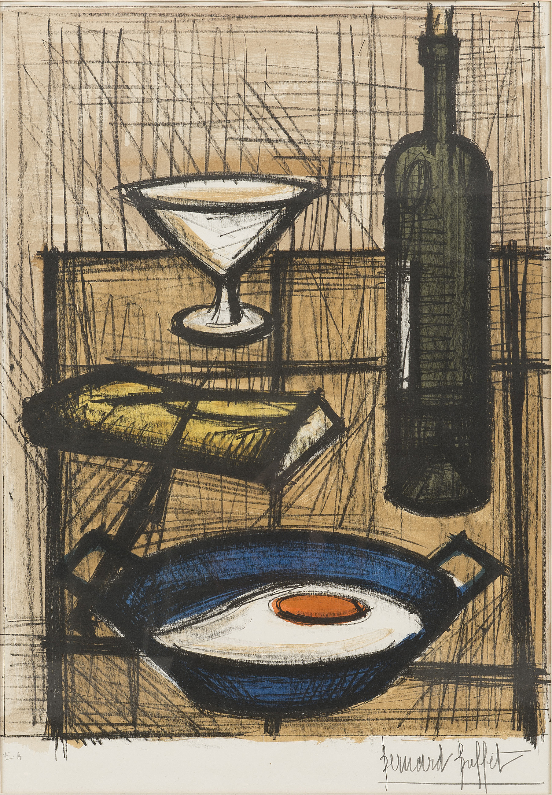 Peachy Bernard Buffet L Oeuf Sur Le Plat 1955 Bukowskis Home Interior And Landscaping Ologienasavecom