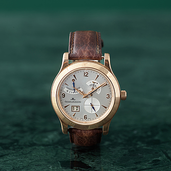 JAEGER-LECOULTRE, Master Eight Days, wristwatch, 41,5 mm,