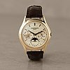 Patek philippe, complicated, perpetual calendar, armbandsur, 34 mm,
