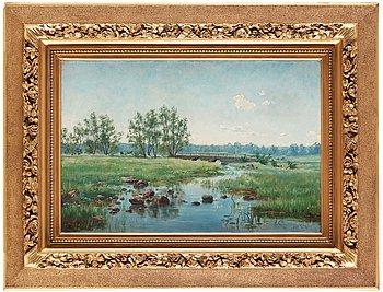 149. Ida Gisiko-Spärck, IDA GISIKO-SPÄRCK, Oil on canvas, signed and dated -87.