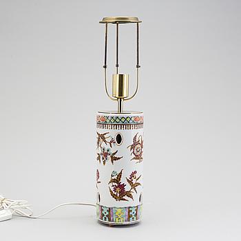 """SVENSKT TENN, A """"2326"""" porcelain table light by Svenskt Tenn."""