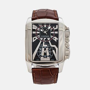 CHOPARD, Dual Time, armbandsur, 38 x 46 (55) mm,