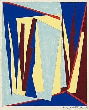 102. Richard Mortensen, Komposition.