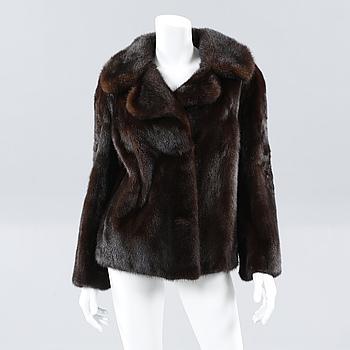 A mink jacket.