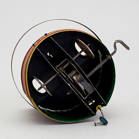 A tinplate jiggs bumper car by gebrüder einfalt / technofix, germany, ca 1930.