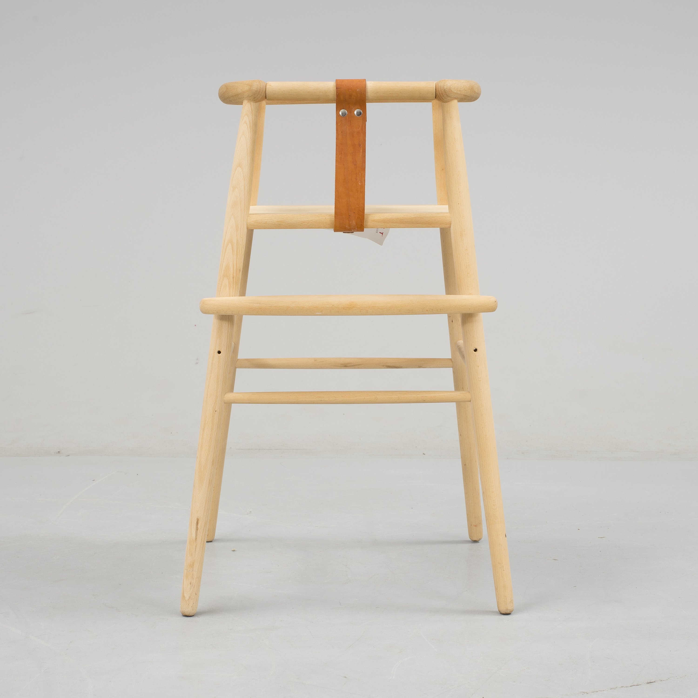 Nye NANNA DITZEL, A beech baby chair from Kvist Möbler, 21st Century EZ-14