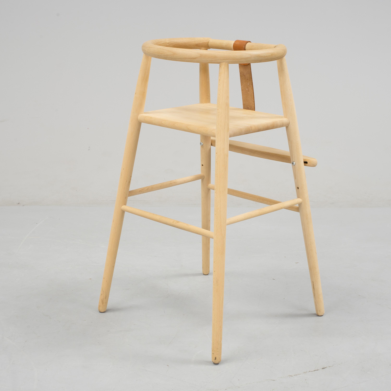 Sidste nye NANNA DITZEL, A beech baby chair from Kvist Möbler, 21st Century ST-41