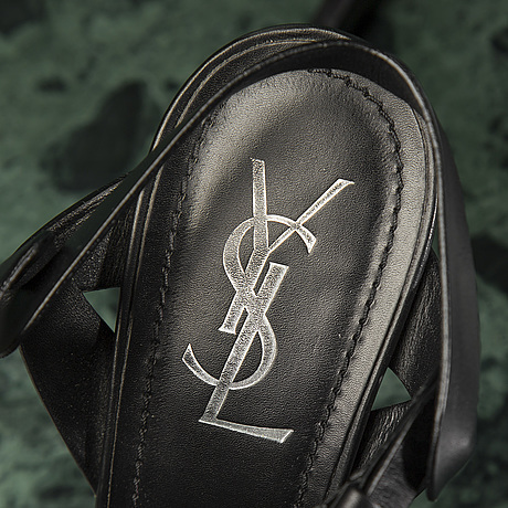 Sandaletter, yves saint laurent storlek 39,5.