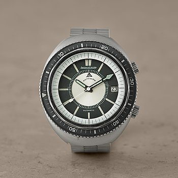 "46. JAEGER-LECOULTRE, Memovox GT, Polaris II, ""Grey edition"", armbandsur, 42 x 49,5 mm."