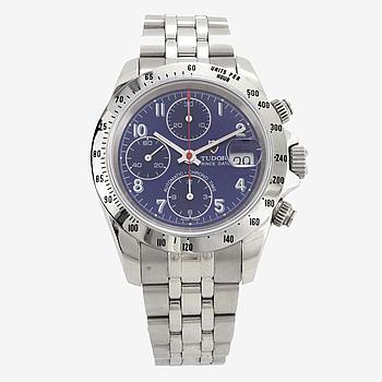 TUDOR, Prince Date, kronograf, armbandsur, 40 mm,