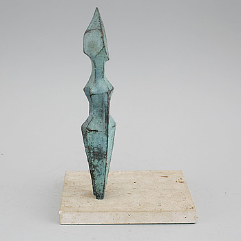 ERIC GRATE, a bronze sculpture, signed and numbered 6/6.