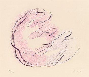 """340. Jean Fautrier, """"Les seins et le sexe de la femme"""", from; """"Fautrier l'enrage""""."""