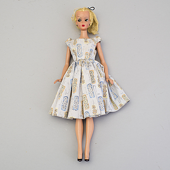 A Bild-Lilli doll, Germany, 1955-1964.