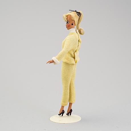 A bild-lilli doll, germany, 1955-1964.