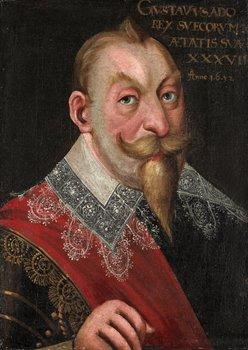 "228. JACOB HEINRICH ELBFAS, ""Konung Gustaf II Adolf"" (1594-1632)."
