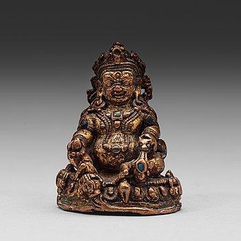 369. KUBERA, kopparlegering. Tibet, 1400-tal.