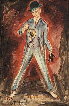 89. Nils von Dardel, Dandy med svärd.