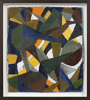 OLLE BONNIÉR, OLLE BONNIÉR, oil on canvas, signed OB.