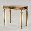 A late gustavian console table.