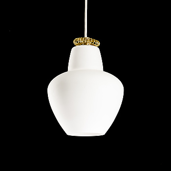 PAAVO TYNELL, A PENDANT LAMP. Idman, 1950s.