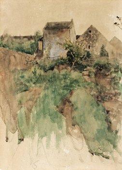 7. BRUNO LILJEFORS, Trädgårdsmotiv från Grez-sur-Loing.