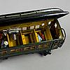 A set of six märklin train carriages 0 gauge, germany, 1920/30s.