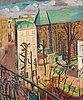 """Isaac grünewald, """"paysage (le couvent)""""."""