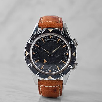 39. JAEGER-LeCOULTRE, Deep Sea Alarm, wristwatch, 39,5 mm,