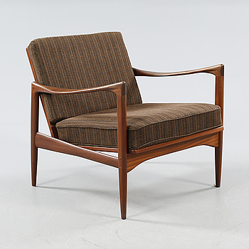 "A 1960s arm chair by Ib Kofoed Larsen,""Kandidaten"", OPE."