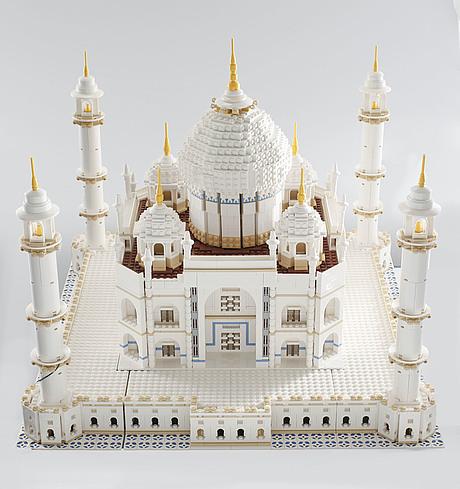 Prebuilt Lego Set Taj Mahal With Box And Instructions Denmark