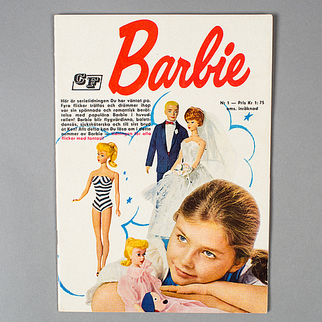Barbie, serietidning #1, stockholm, 1963
