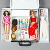 A lot of 9 barbie dolls, mattel, 1960s