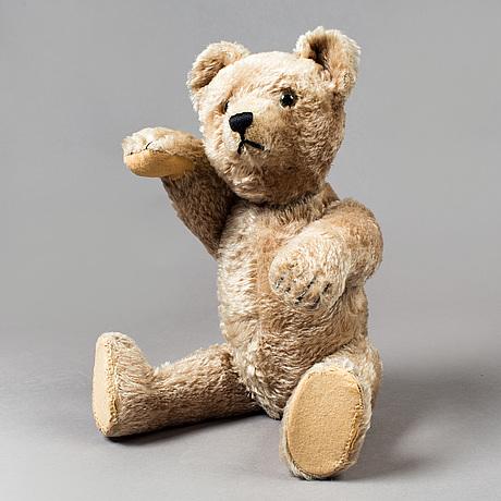 A schuco tricky teddybear, germany, 1940/50s.