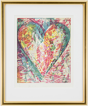 JIM DINE, JIM DINE, woodcut, signed, dated 1996 and numbered 2/50.