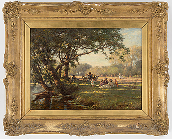 WILLIAM KAY BLACKLOCK, WILLIAM KAY BLACKLOCK, oil on canvas, signed.