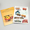 A large lot of ca 200 toy auction catalogs.