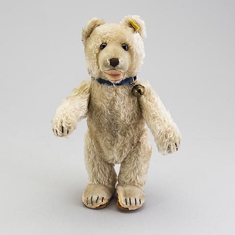 A steiff teddy baby teddybear, germany, ca 1952.