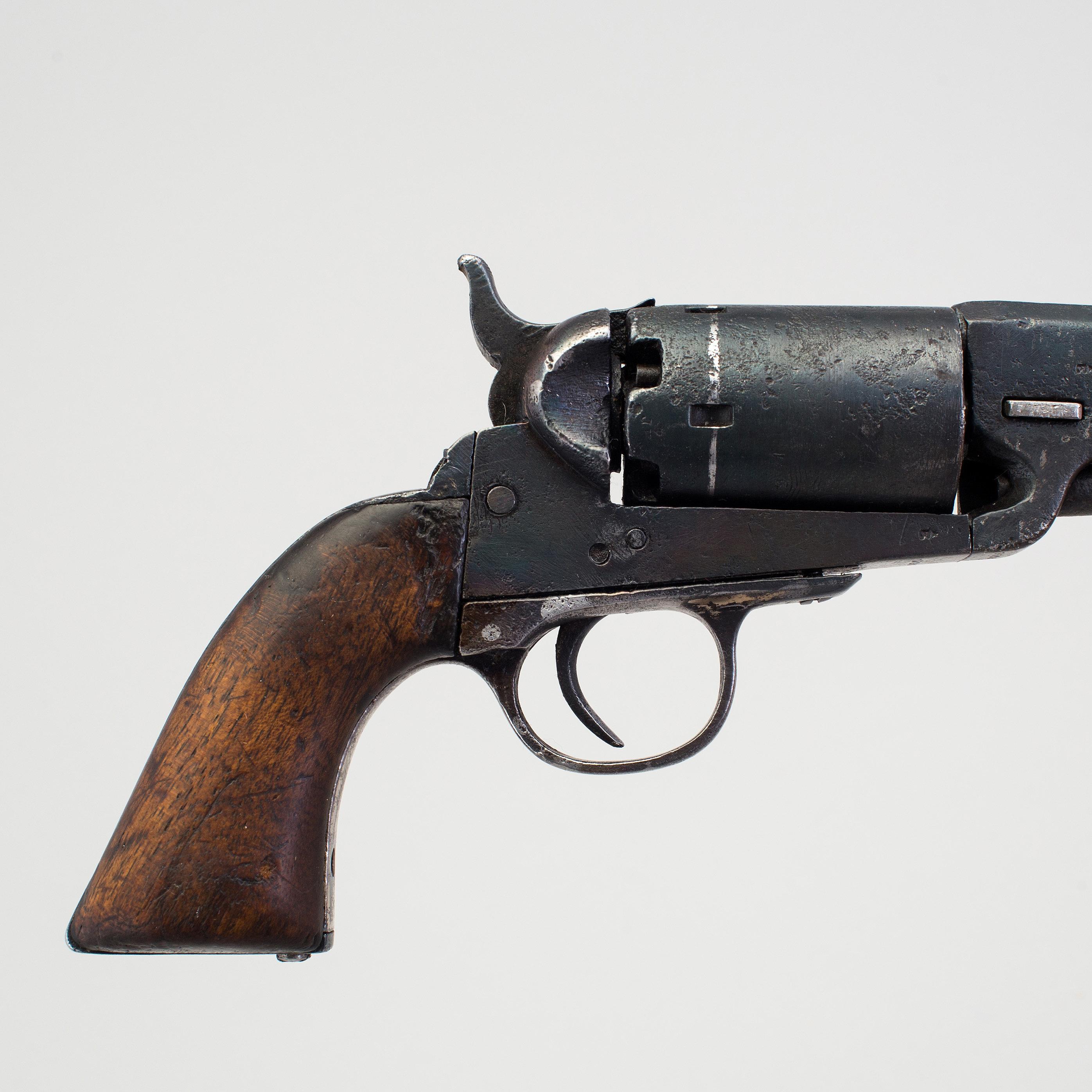 A belgian Colt Pocket copy percussion revolver mid 19th century