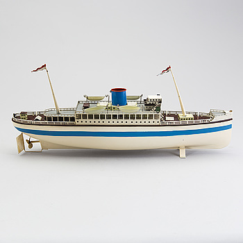 FLEISCHMANN, passagerarfartyg, Tyskland, 1950-tal.