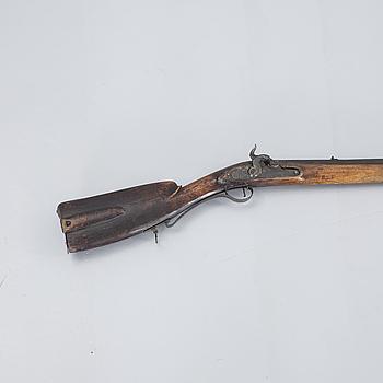 SLAGLÅSGEVÄR, 1800-tal.