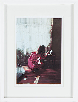 KARIN BROOS, giclée print signed and numbered 17/90.