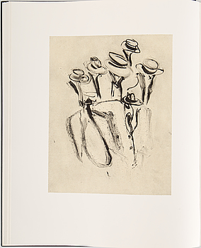 WILLEM DE KOONING, Poems by Frank O'Hara with litographs by Willem De Kooning, signerad och numrerad 174/550.