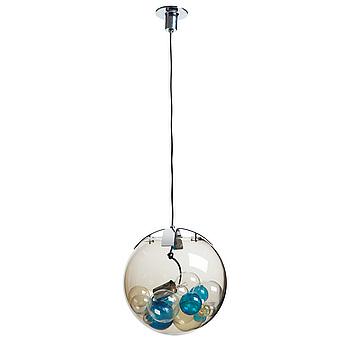 192. PAOLO VENINI, A Paolo Venini 'Palotta' glass ceiling lamp, Venini, Italy 1970's.