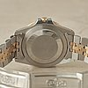 """Rolex, oyster perpetual, gmt-master, chronometer, """"root beer, nipple dial"""", wristwatch, 40 mm,"""