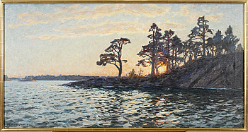 GOTTFRID KALLSTENIUS, GOTTFRID KALLSTENIUS, oil on canvas, signed and dated 1930.