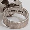 A ring by cecilia johansson, göteborg, 1971.