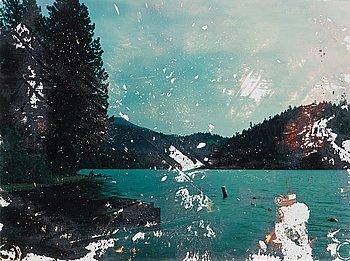 "15. Matthew Brandt, ""Lake Selmac, OR 6"", 2009."