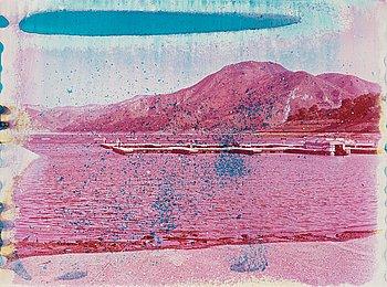"13. Matthew Brandt, ""Yuba Lake, CA 7"", 2011."