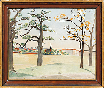 EINAR JOLIN, EINAR JOLIN, oil on canvas, signed Jolin and dated 1926.