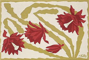 BONAD, mönstret möjligen designat av Maja Fjaestad, KSAL, Konstslöjdsanstalten Lund, daterad 1901.